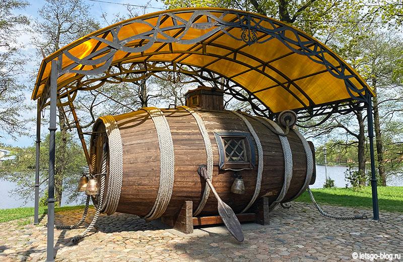 Потаённое судно Ефима Никонова Сестрорецк