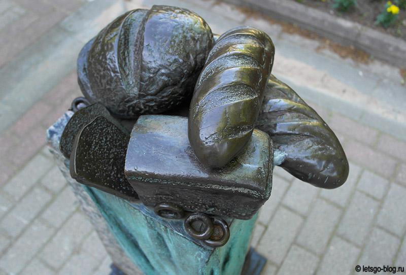 Памятник хлебу Зеленогорск