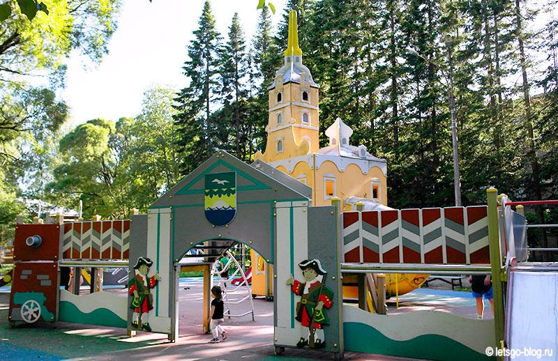 Детская площадка Петропавловская крепость Зеленогорск