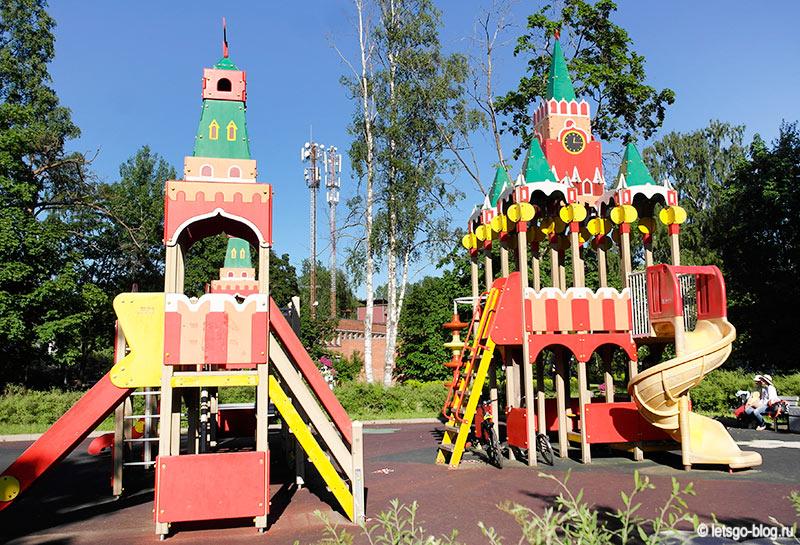 Детская площадка Кремль Зеленогорск
